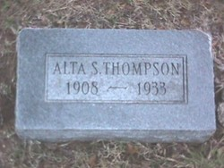 Alta Susan <i>Carroll</i> Thompson