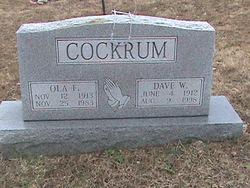Dave Whitekiller Cockrum