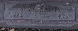 Alma V. <i>Johnson</i> Halley