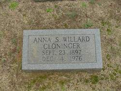 Anna <i>Smith</i> Cloninger