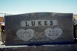 Martha Ella <i>Pilcher</i> Lukes