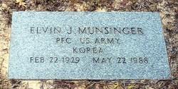 Elvin J Munsinger