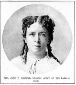 Mary Elizabeth <i>Fiske</i> Sargent
