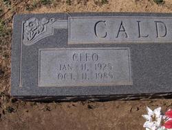 Cleo Alvin Calder
