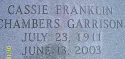Cassie Franklin <i>Chambers</i> Garrison