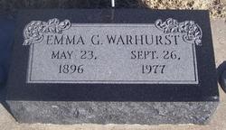 Emma G Warhurst