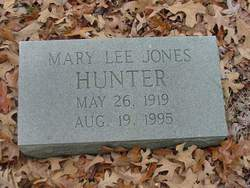 Mary Lee <i>Jones</i> Hunter