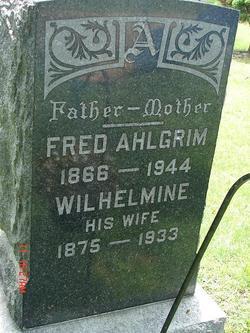 Wilhelmine Ahlgrim