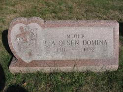 Beulah Bea M. <i>Olsen</i> Domina