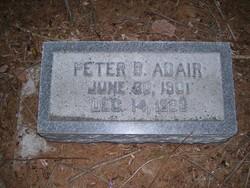 Peter B Adair