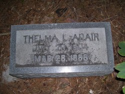 Thelma L Adair