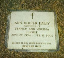 Ann Cabiness <i>Hooper</i> Daley
