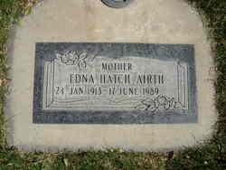 Edna <i>Hatch</i> Airth