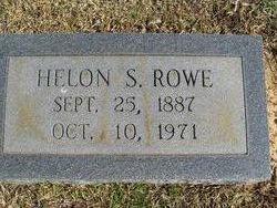 Helon S. Rowe