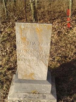 Martha Jane <i>Tuck</i> McDowell