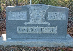 Marguerite Tebby <i>Coleman</i> Overstreet