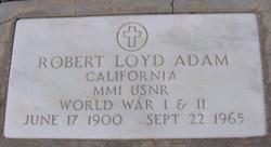Robert Lloyd Adam