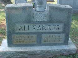 Sallie Ann <i>Butler</i> Alexander