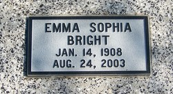 Emma Sophia <i>Swanson</i> Bright