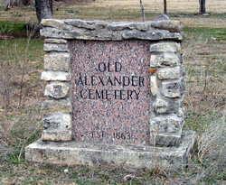 Alexander Family Cemetery