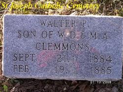 Walter P Clemmons