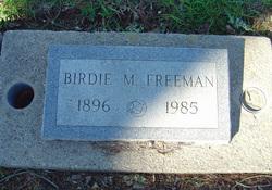 Birdie May <i>Gfeller</i> Freeman