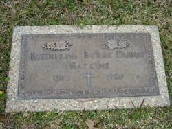 Katherine Bertha <i>Burke</i> Dubus Watkins