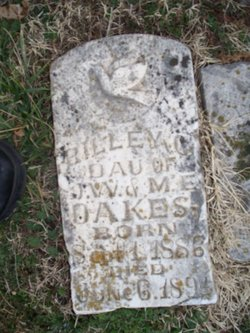 Marilla Clyde Rilley Oakes
