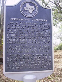 Greenwood-Jenkins Cemetery