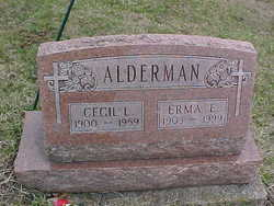 Erma E. <i>Holiday</i> Alderman