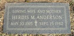 Herdis Marie <i>Stensveeg</i> Anderson