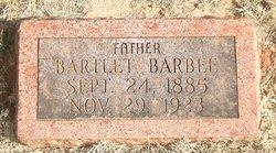 Bartlet Barbee