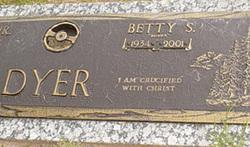 Betty Jean Bunnie <i>Stevens</i> Dyer