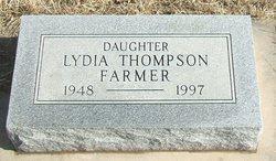 Lydia <i>Thompson</i> Farmer