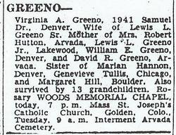 A. Virginia <i>Hannan</i> Greeno