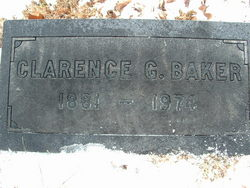 Rev Clarence Garfield Baker