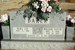 William Taylor Willie Baker