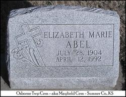 Elizabeth Marie Abel