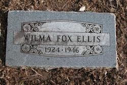 Wilma Ruth <i>Fox</i> Ellis