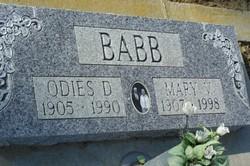 Mary V Babb