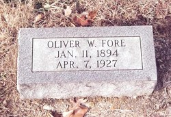William Oliver Oliver Fore