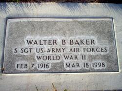 Walter B Baker