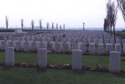 Mont Huon Military Cemetery Le Treport