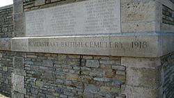Klein-Vierstraat British Cemetery