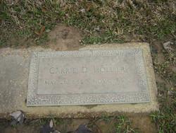 Carrie D Hollier
