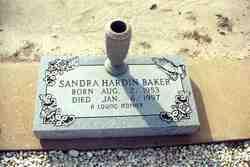 Sandra <i>Hardin</i> Baker