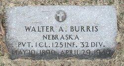 Pvt Walter Albert Burris