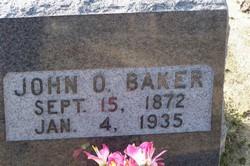 John O Baker