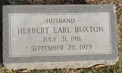 Herbert Earl Buxton