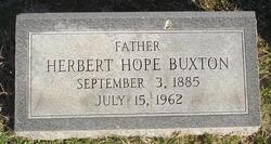 Herbert Hope Buxton